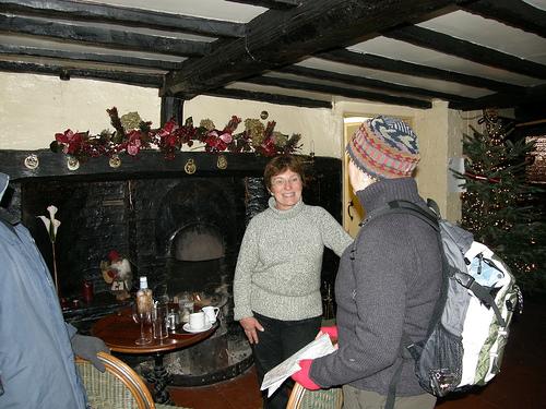 Ro at the Plough & Fleece