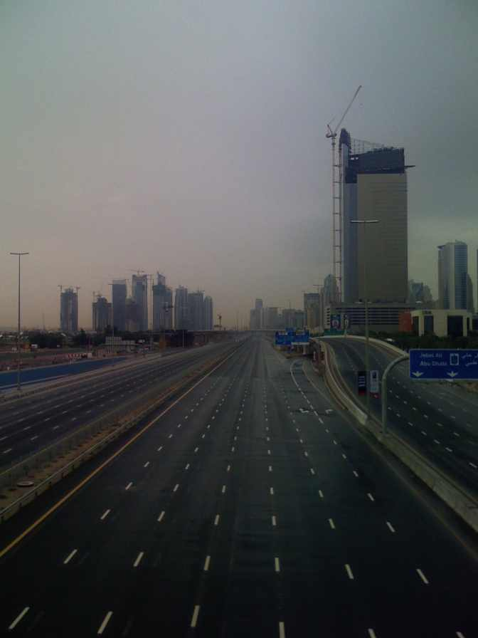 Clear Roads in Dubai2