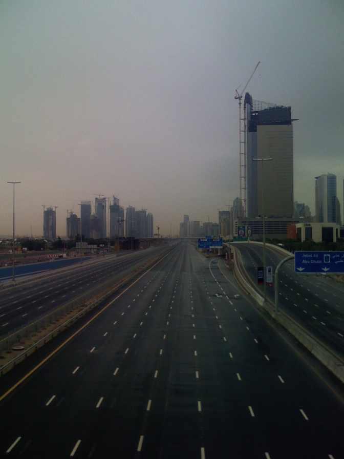 Clear Roads in Dubai2