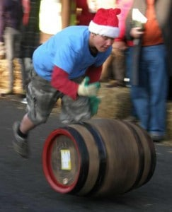Top notch barrel roller