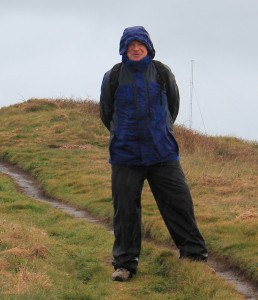 South West Coast Path Hiker