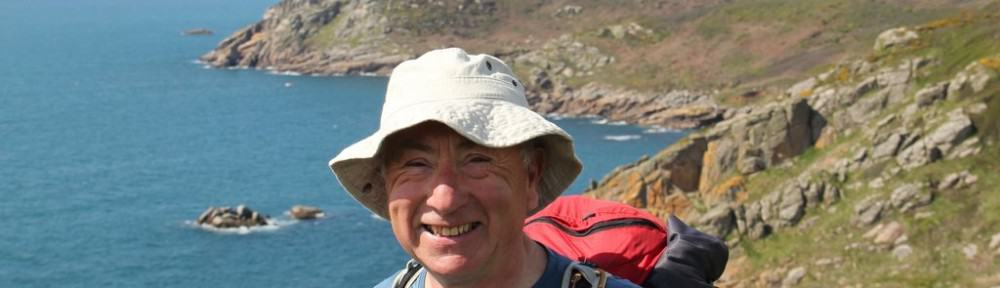 Geoff on South West Coast Path