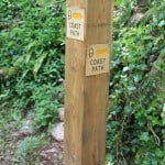 Way Marker post