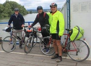 Me & fellow Danube cyclists