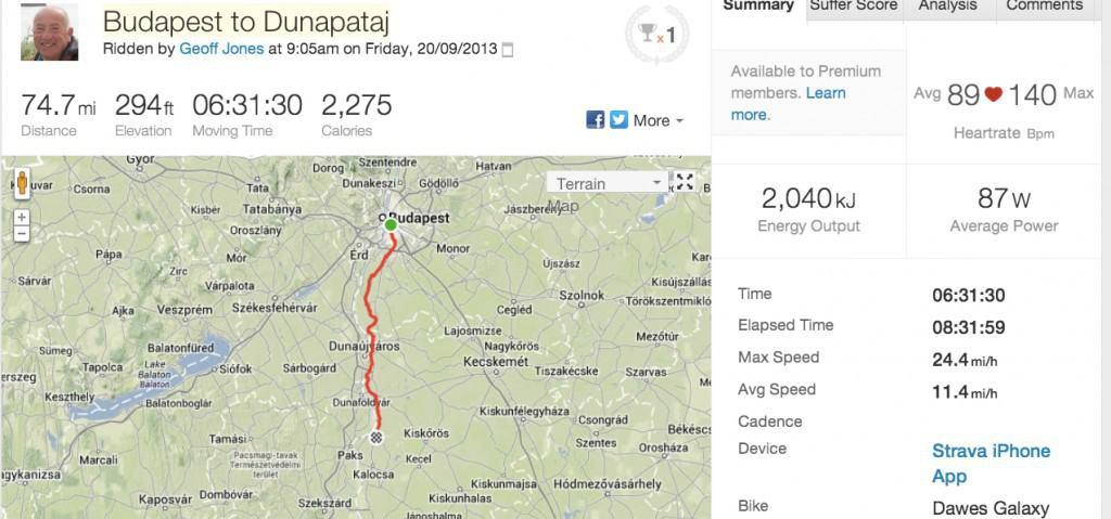 Strava_Ride___Budapest_to_Dunapataj