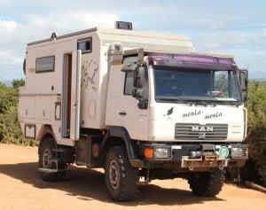 Rita & Freddies truck