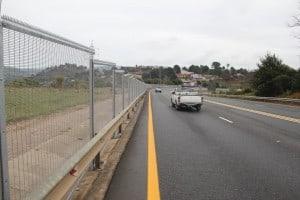 Road fencing