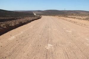 R363 dirt road