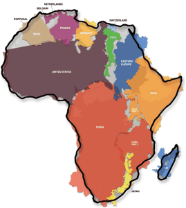 true_size_of_africa