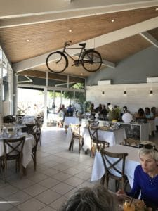 A French cycling cafe