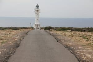 The end of the road! Most southerly point in The Baleraics