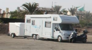 If your camper van isnt big enough get a trailer
